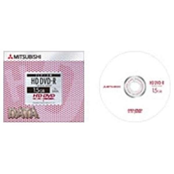 1倍速対応 データ用HD DVD-Rメディア(15GB・1枚) DR15T1