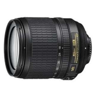 カメラレンズ AF-S DX NIKKOR 18-105mm f/3.5-5.6G ED VR APS-C用 NIKKOR(ニッコール) ブラック [ニコンF /ズームレンズ]