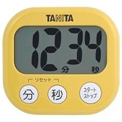 デジタルタイマー でか見えタイマー TD-384-MY マンゴーイエロー