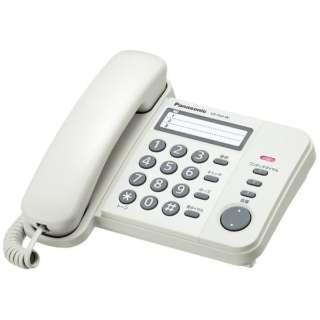 VE-F04 電話機 RU・RU・RU(ル・ル・ル) ホワイト