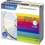DHR47J10V1 データ用DVD-R シルバー [10枚 /4.7GB]