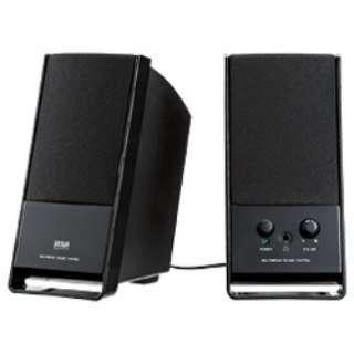 MM-SPL3BK マルチメディアスピーカー ブラック [AC電源 /2.0ch]