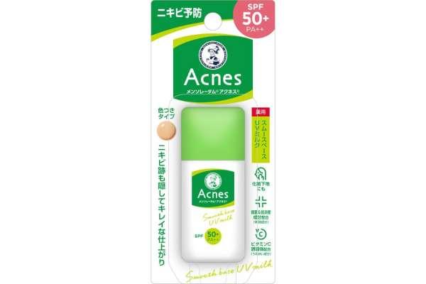 9位 ロート製薬「Mentholatum(メンソレータム)アクネス 薬用UVティントミルク」(ミルク)