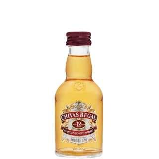 シーバスリーガル 12年 ミニチュアボトル 50ml【ウイスキー】