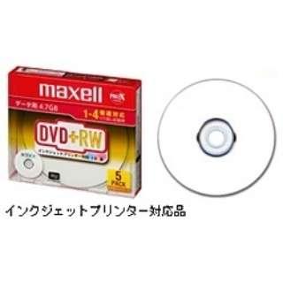D+RW47PWB.S1P5S A データ用DVD+RW ホワイト [5枚 /4.7GB /インクジェットプリンター対応]