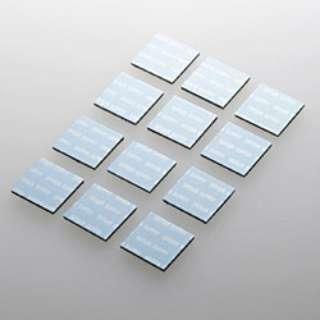 ノートパソコン冷却パッド 正方形・12枚入り (ブルー) TK-CLNP12BL