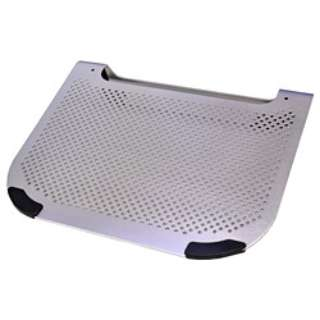 USBファン付きノートPC専用スタンド(シルバー) NSF-01/SL
