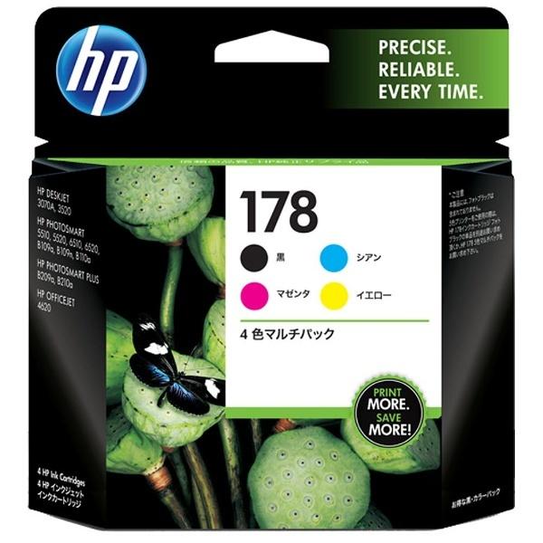 HP 178 CR281AA [4色マルチパック]
