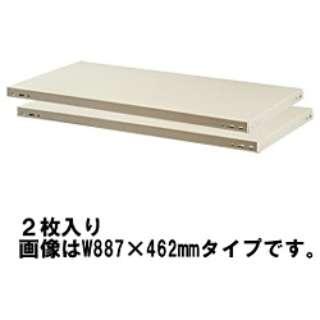 棚板KR KR-T1245(ライトグレー) 848-017