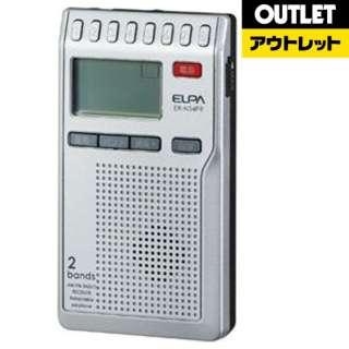 【アウトレット品】 ER-N34PR 携帯ラジオ [AM/FM /ワイドFM対応] 【生産完了品】