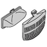洗濯機用 下部糸くずフィルター(2個入り) NET-K8KV 001