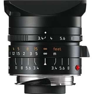 カメラレンズ M F3.4/21mm ASPH SUPER ELMAR(スーパー・エルマー) ブラック [ライカM /単焦点レンズ]