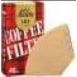 コーヒーフィルター 101濾紙 ブラウン 40枚入 11141