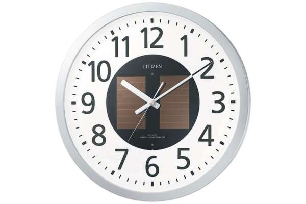 リズム時計「エコライフM815」4MY815-019(電波時計)