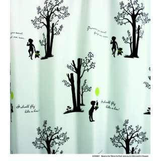 ドレープカーテン シャイニーパーク(100×135cm/ホワイト)【日本製】