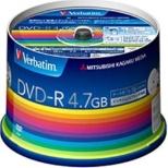 DHR47JP50V3 データ用DVD-R ホワイト [50枚 /4.7GB /インクジェットプリンター対応]