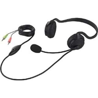 BSHSN02BK ヘッドセット ブラック [φ3.5mmミニプラグ /両耳 /ネックバンドタイプ]