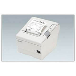 【レシート印刷】サーマルレシートプリンター[USB2.0] クールホワイト TM885UD481 レシートプリンター ホワイト
