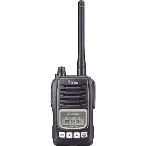 デジタル30ch対応 携帯型 トランシーバー(1台) IC-DPR6【要登録申請】