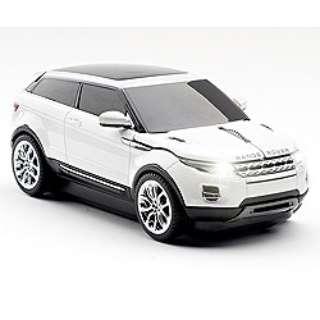 FACE 660172 マウス クリックカーマウス Range Rover(レンジローバー)Evoque white  [光学式 /USB /無線(ワイヤレス)]