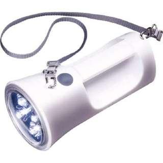 KFL-1800W 懐中電灯 ホワイト [LED /単1乾電池×4 /防水]