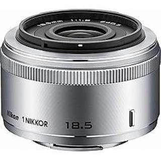 カメラレンズ 1 NIKKOR 18.5mm f/1.8 NIKKOR(ニッコール) シルバー [ニコン 1 /単焦点レンズ]