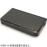 クリスタルシェル3DLL クリアブラック【3DSLL】