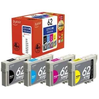 PLE-E624P 互換プリンターインク 4色パック