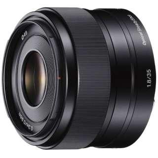 カメラレンズ E 35mm F1.8 OSS  APS-C用 ブラック SEL35F18 [ソニーE /単焦点レンズ]