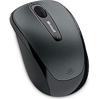 GMF-00298 マウス Wireless Mobile Mouse 3500 ユーロシルバー  [BlueLED /3ボタン /USB /無線(ワイヤレス)]