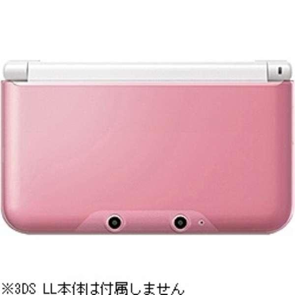 ニンテンドー3DS LL用 PCカバー クリアピンク【3DS LL】