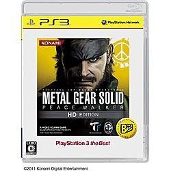 METAL GEAR SOLID PEACE WALKER HD EDITION [PlayStation 3 the Best]