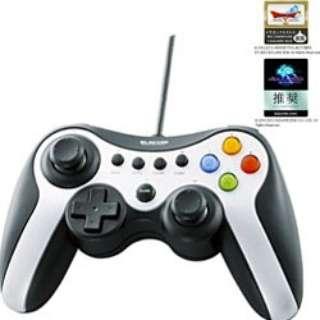 JC-U3613MSV 【ドラゴンクエストX/FF XIV:新生エオルゼア 推奨】ゲームパッド シルバー [USB /Windows /13ボタン]