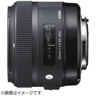 カメラレンズ 30mm F1.4 DC HSM APS-C用 Art ブラック [シグマ /単焦点レンズ]