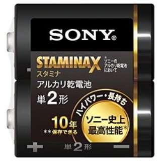LR14SG-2PE 単2電池 スタミナX(STAMINA X) [2本 /アルカリ]