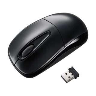 MA-WH123BK マウス ブラック  [光学式 /3ボタン /USB /無線(ワイヤレス)]