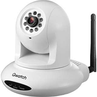 TS-WPTCAM ネットワークカメラ Qwatch(クウォッチ) ホワイト [暗視対応 /有線・無線]