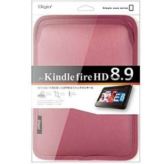 Kindle Fire HD8.9用 スリップインケース (ピンク) TBC-KF81303P