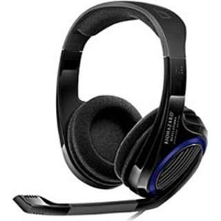 ゲーミングヘッドセット BIOHAZARD ブラック [USB /オーバーヘッド]