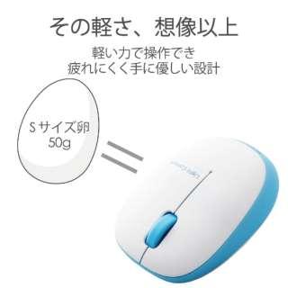 M-BL20DBBU マウス ブルー  [BlueLED /3ボタン /USB /無線(ワイヤレス)]