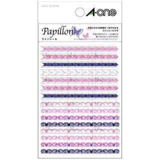 手帳用シール Papillon パピヨン 05229 [1シート /マット]