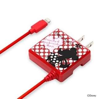 AC充電器 Lightning ミニーマウス PG-DNYMFI231MNE