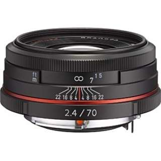 カメラレンズ HD PENTAX-DA 70mmF2.4 Limited APS-C用 ブラック [ペンタックスK /単焦点レンズ]