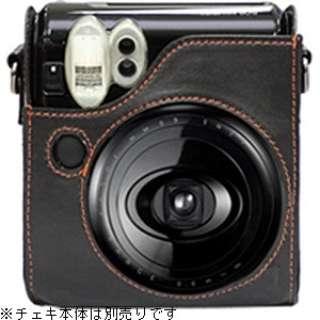 """カメラバッグ(速写ケース) """"チェキ"""" instax mini 50S用(ブラック)"""