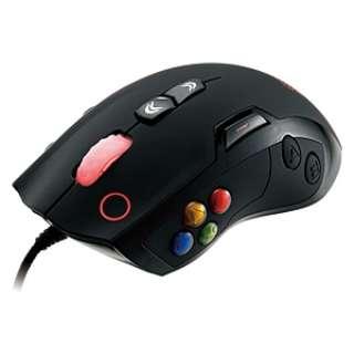 MO-VLS-WDLOBK-01 ゲーミングマウス Tt eSPORTS VOLOS ブラック  [レーザー /14ボタン /USB /有線]