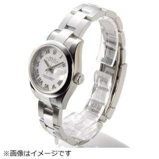 online store 7db12 4ce84 ビックカメラ.com - レディース腕時計 デイトジャスト 26 ローマ 179160 ホワイト 【並行輸入品】