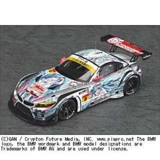塗装済み完成品ミニカー 1/43 GSR 初音ミク BMW 2012 開幕ver.