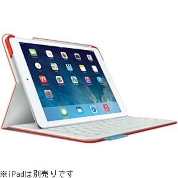 TF925RD キーボード[iPad Air 1用] フォリオ マーズレッドオレンジ [Bluetooth /ワイヤレス]