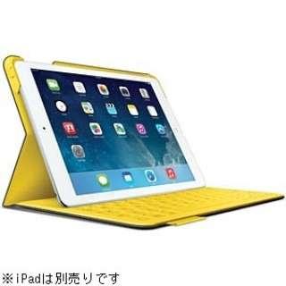 iPad Air用 ファブリックスキンキーボードフォリオ FabricSkin Keyboard Folio (アーバングレー)TF925UG