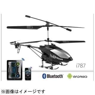 〔iOS/Androidアプリ〕 iSpace  i787 (ヘリコプター・ブラック) [Weccan]